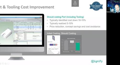 Cost Illumination at Signify - Signify - Cost Savings