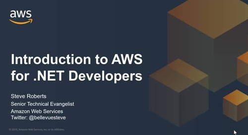 Introduction to AWS for .NET Developers
