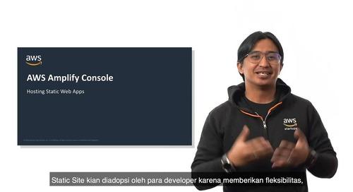 AWS - Amplify Console (Bahasa)