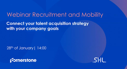 Webinar Recruitment and Mobility - Connect your talent acquisition strategy with your company goals