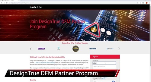 DesignTrue DFM Customer Partner Portal - Feature Video