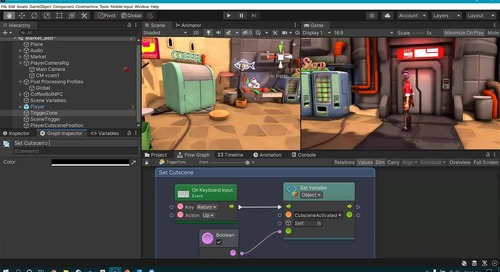 Unity Visual Scripting for Game Logic, Animation, & More
