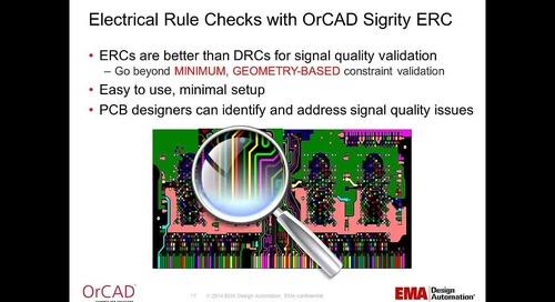 OrCAD Sigrity ERC Webinar