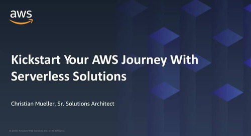 Kickstart Your AWS Journey with Serverless Solutions