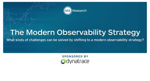 Nancy Gohring: What kind of challenges can be solved by shifting to a modern observability strategy?