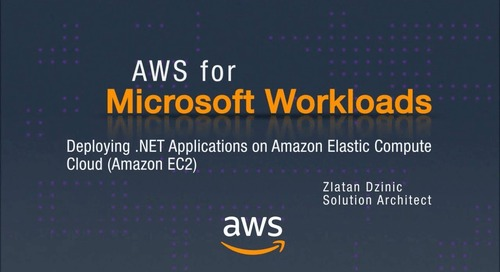 AWS for Microsoft Workloads: Deploying .NET Apps on Amazon Elastic Compute Cloud (Amazon EC2)