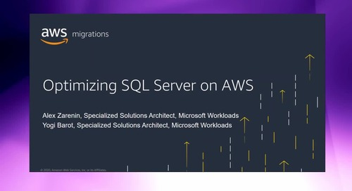 How to pre- and post-migration optimize your SQL environment [Level 300]