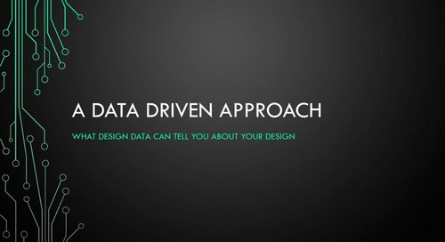 Webinar: Data Driven Design
