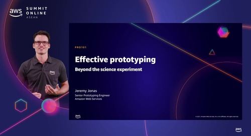 Effective prototyping - Beyond the science experiment [L100]
