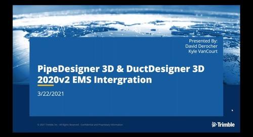 EC-CAD, PD3D & DD3D Release Pre-Recorded Webinars