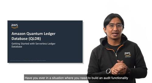 Amazon Quantum Ledger Database (QLDB)