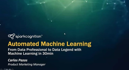 From Data Professional to Data Legend with Machine Learning