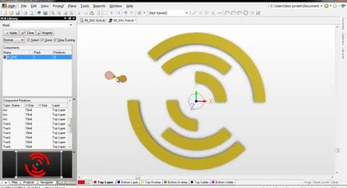 Creating Custom Pad Shapes - EvalQuest - Features