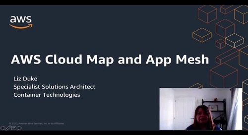 AWS Cloud Map and App Mesh