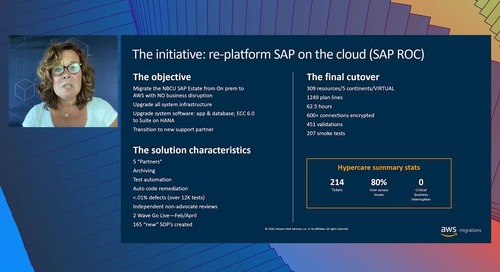 The Story of NBC Universal's SAP Journey to the Cloud