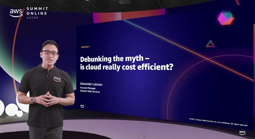 Membongkar mitos: Apakah Cloud benar-benar hemat biaya? [L200]