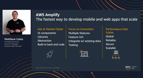 Building mobile and web applications with AWS Amplify (Level 200)