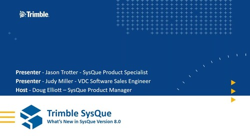 [Webinar Recording] What's New: SysQue v8.0 Release