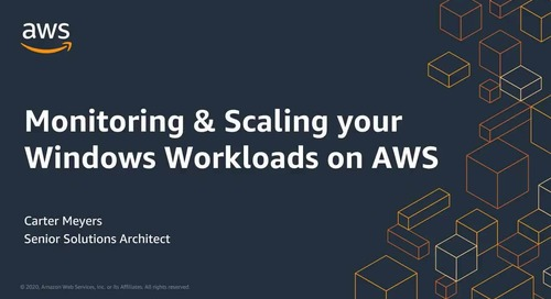 The Lifecycle of Resizing – Properly Maintain Your Windows Workloads on AWS