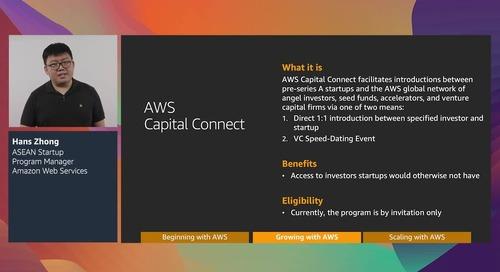 AWS Summit Online ASEAN 2020 On-Demand
