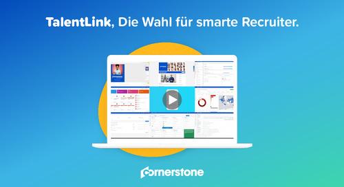 TalentLink. Die Wahl für smarte Recruiter.