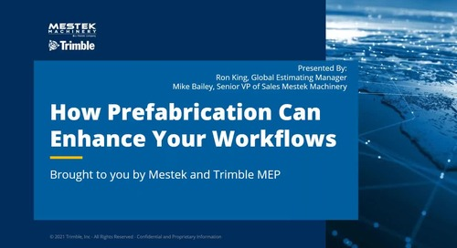 [Webinar Recording] How Prefabrication can Enhance your Workflows