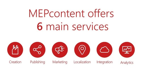 MEPcontent for Manufacturers