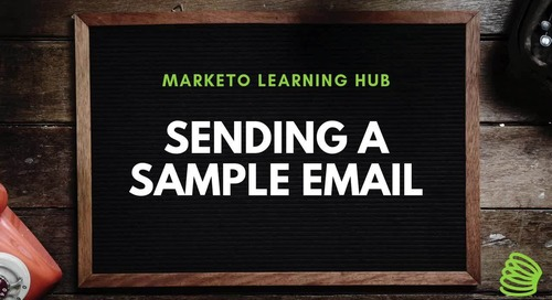 Sending a Sample Email
