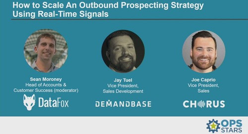 How to Scale An Outbound Prospecting Strategy Using Real Time Signals