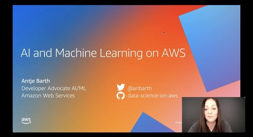 AI and Machine Learning on AWS