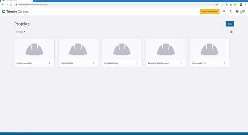 Trimble Connect 014 - Datensicherung und Synchronisieren
