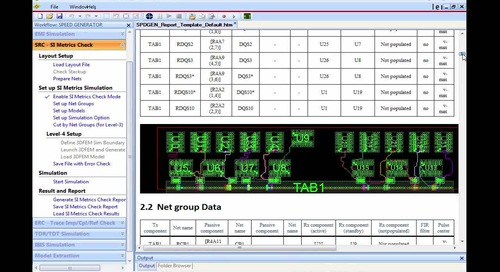 Sigrity Tech Tip: Jump Start Electrical Sign Off Using Power Aware Rule Checks