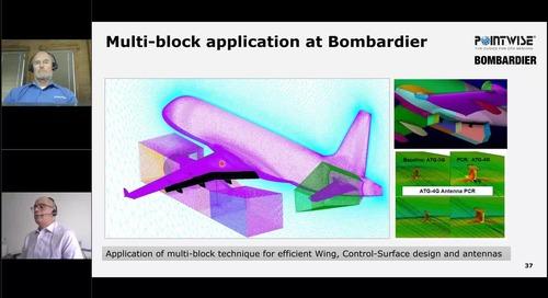 Automated Meshing and Adaptive Re-meshing at Bombardier
