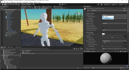 Road to Real-time: Look Development