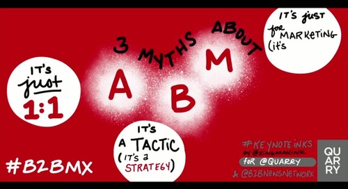 #ABM myths presented by @kgee (who debunked them all at @Oracle and changed the way the company sees ABM). - via @jontam13 and @rhsays