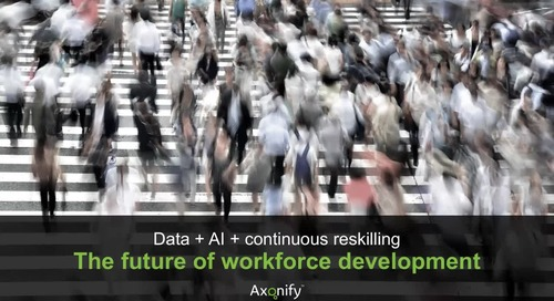 Data, AI & Continuous Reskilling: The Future of Workforce Development