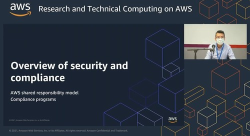 Introduction of AWS for research IT (English Webinar)