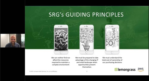 Together, We Innovate - SRG Gains Agility to Meet Increasing Demand with Lemongrass and AWS