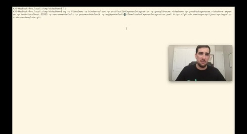 AsyncAPI Code Generation: Microservices Using Spring Cloud Stream