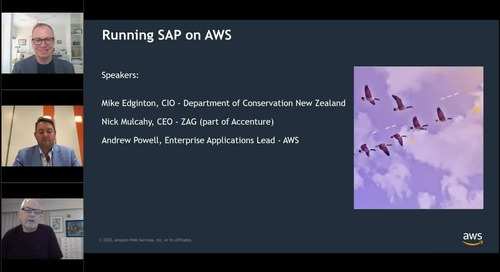 Top five tips for running SAP on AWS