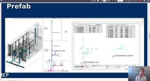 Prefabrication workflow