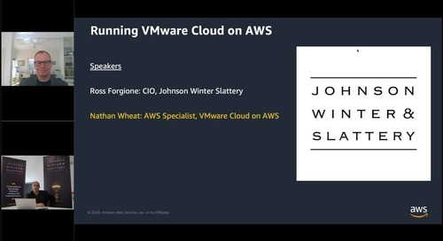 Top five tips for running VMware on AWS