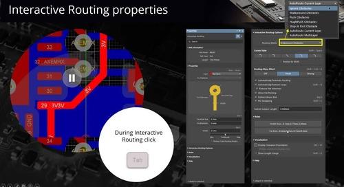 Riduci i tempi del PCB Routing con Altium Designer