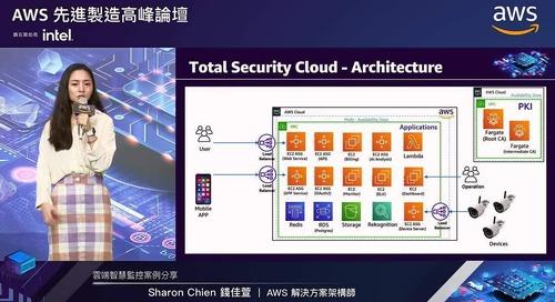 AWS先進製造高峰論壇: 雲端智慧監控案例分享