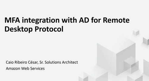 Remote Desktop Gateway on AWS
