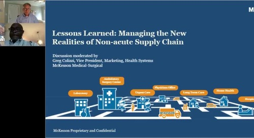 Managing the new realities of non-acute supply chain