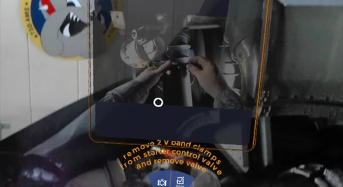 US Air Force Augmented Reality Mechanic Training