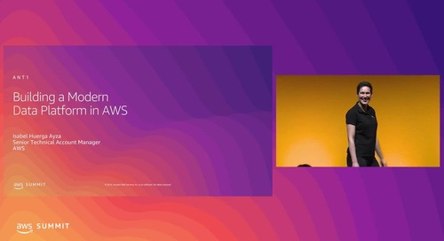 Building a Modern Data Platform on AWS