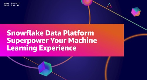 Superpower your machine learning experience with Snowflake