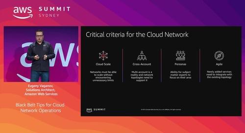 Black Belt Tips for Cloud Network Operations